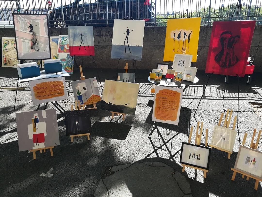 J'expose au Marché de la Création de Lyon
