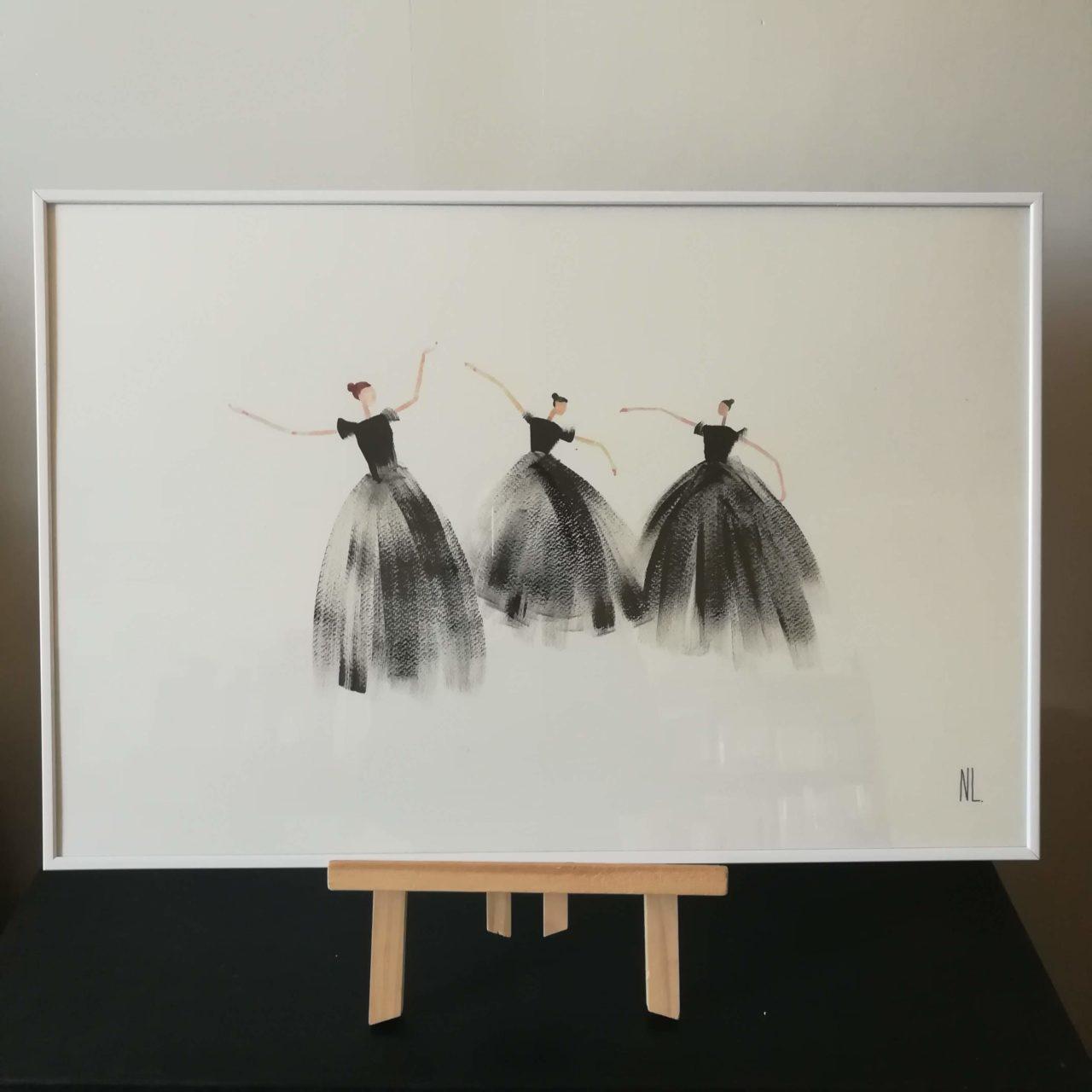 Danseuses - Hélène, Edith, Flore