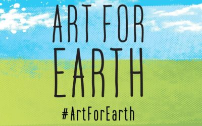 Noémie Labrosse takes part in ArtForEarth by WWF
