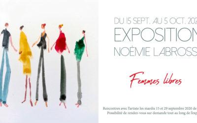 """Exposition """"Femmes libres"""" à Lyon à partir du 15 septembre."""